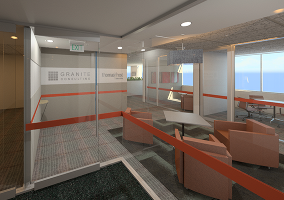 Granite Consulting & Thomas Frost's Office is in Construction