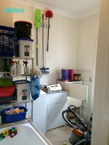 Existing temporary laundry