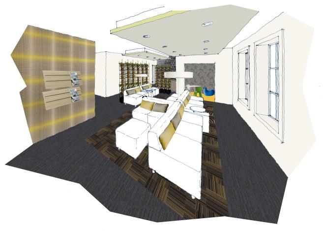 LISA ELLIOTT_INTERIOR DESIGN_ROOMS WITH STYLE_CLINIC_WAITING AREA