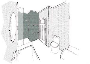 Pascoevale bathroom view 1