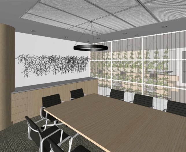 Lisa elliott interior design_the body shop concept_boardroom design