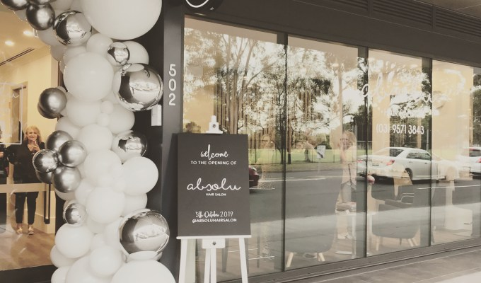Absolu Hair Salon – Opening night